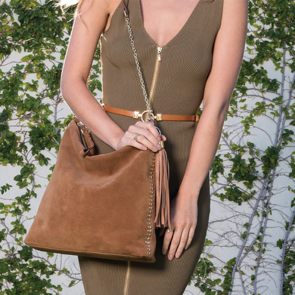 Monk Leather, Ginger tote bag, tan, Lifestyle image 01