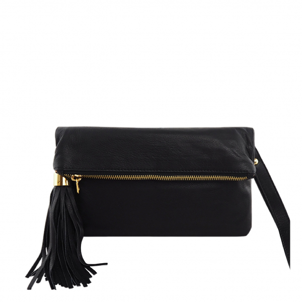 Monk Leather, August clutch, Black, Product image 01