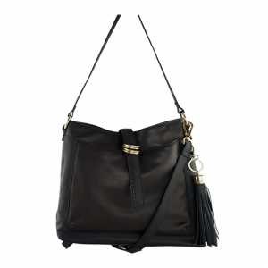 Monk Leather, Kendall tote bag, black, Product image 01